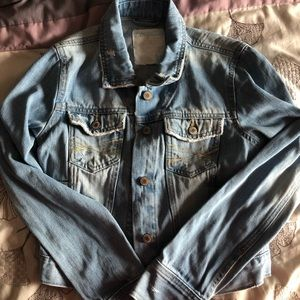 🌸3 for $20🌸 Distressed Aeropostale jean jacket